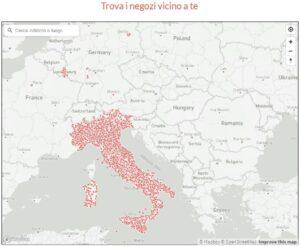mappa esercenti convenzionati satispay